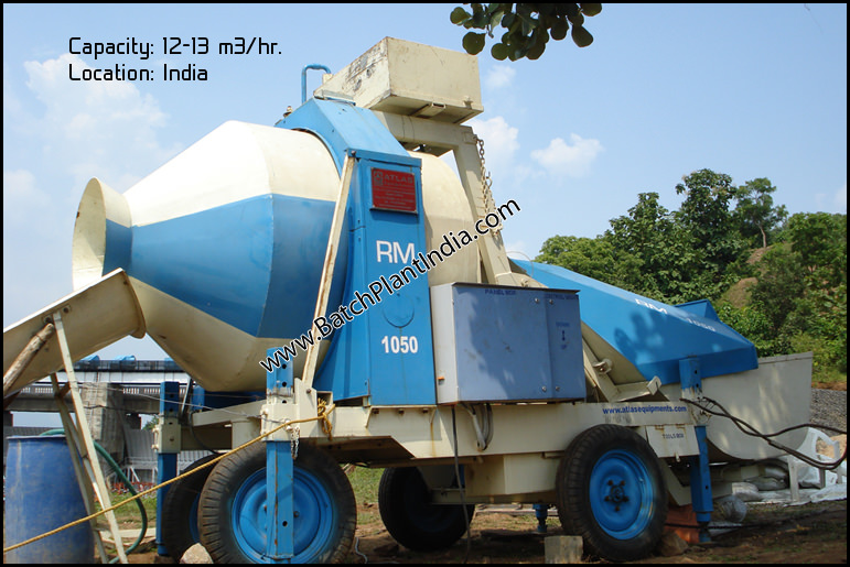 mini concrete equipment