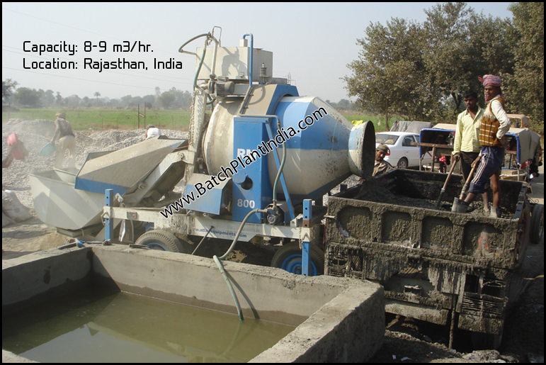 mini concrete mixer exporters