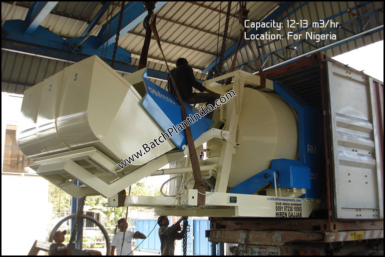 mini concrete mixers