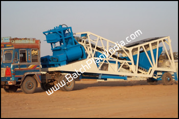 mobile batch plant India