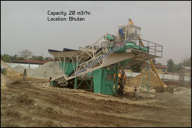 mobile concrete plant exporters