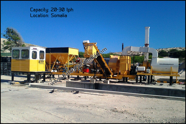 mobile hot mix asphalt plants