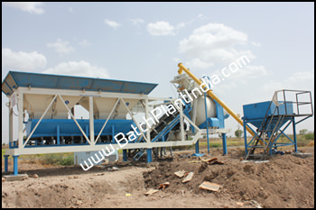 portable concrete mixer India