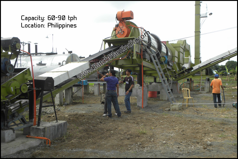 stationary asphalt plant mixers