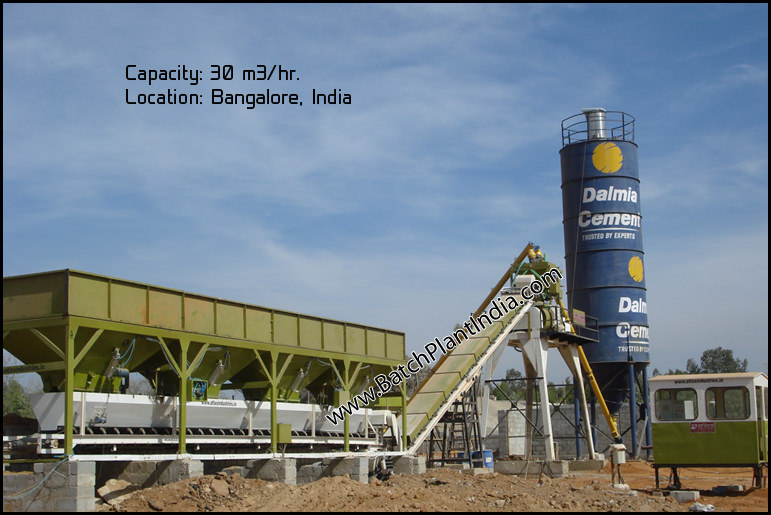 concrete batching plant India
