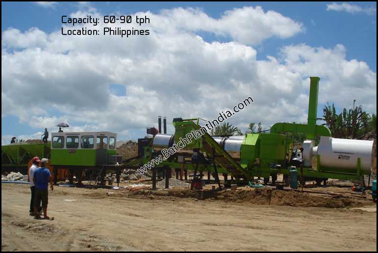 portable asphalt mixer suppliers