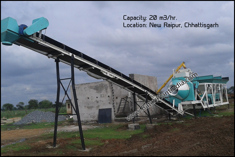 portable concrete plant
